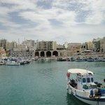 Docas venezianas no porto