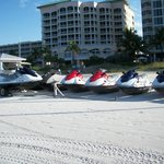 Wave Runners! Ours was blue.