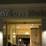 вход в отель)