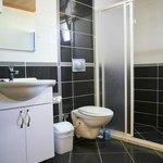 Shower, toilets