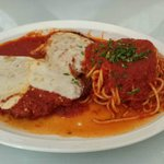 Chicken Parm - an explosion of flavor in your mouth!