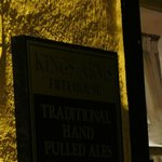Kings Arms Freehouse Stainton sign
