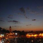 Marrakech- atardecer