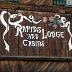 Sign on Original Lodge Building