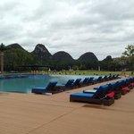 club med pool at Guilin