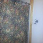 From bathroom door