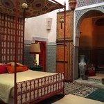 The Pasha Suite's bedroom