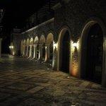 Casa Bella at night