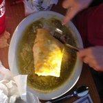Specialties - burrito verde