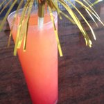 Sex on the beach cocktails served at Apolo Bar for 4 euro