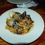 assiette de la mer gratinée