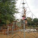 Fun climbing frame