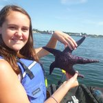 Jenna with Starfish