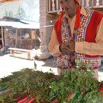 Divorcia and his medicinal herbs