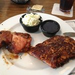 chicken and ribs