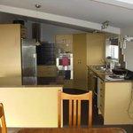 Upstairs lodge kitchen