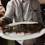 Did you see such a big tiger prawns??? If not, go to Goa ;-))