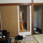 Toilet and shower room doors