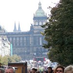 Wenceslas Square - which is really rectangular...