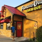 Famous Daves--just steps away from the Hampton Inn