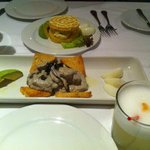 Causa, pulpo y pisco sour