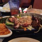 Steak and Chicken Fajitas