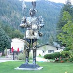 Der Ritterhof's Personal Greeter, he makes you feel welcome