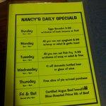 Specials List