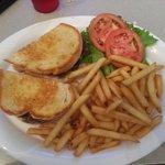 Mammoth Burger Plate