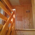 oben sind die Schlafzimmer