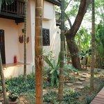 Lovely gardens, relaxing rooms