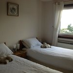 nice room, compact but comfortable
