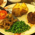 Fillet steak! Great steak