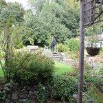 giardino fuori dalla camera