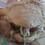 hamburguesa en pan de bolla