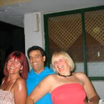 "Sarah, Andraos, me after the ""Hunny Rum"""