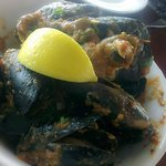 Mussel cook with traditional chilli