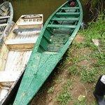 Green hotel boat for Loboyoc creek