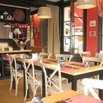 Le Bistrot a Crepes interior