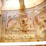 Des centaines de mètres carrés de mosaïques représentant la vie à cette époque