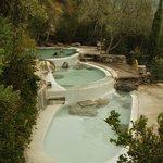 piscine termali in cima al parco