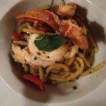 Spaghetti med hummer