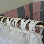 Rusty shower rail