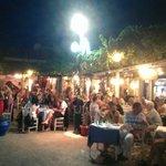Greek dancing night.