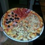 Pizzabude Foto