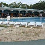 Ресторация с бассейном