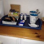 welcoming drinks tray