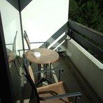 Terrasse coté salon