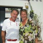 Huub en  Annemie, de eigenaars