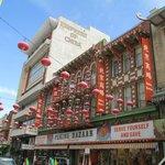 Interesting architecture in Chinatown.